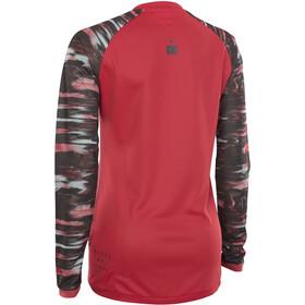 ION Scrub AMP Longsleeve Shirt Dames, pink isback